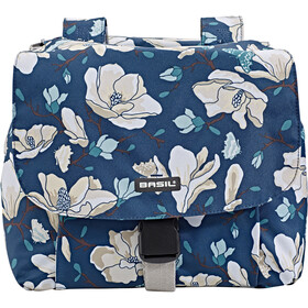 Basil Magnolia S Luggage Carrier Double Bag 25L teal blue